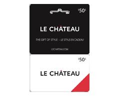 Image du produit Incomm - Carte-cadeau Le Château de 50 $