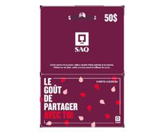 Image du produit Incomm - Carte-cadeau SAQ de 50 $