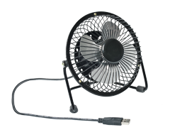 Image du produit ibiZ - Ventilateur à prise USB, 1 unité