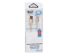 Image du produit ibiZ - Chargeur et câble de synchronisation, 1 unité, or