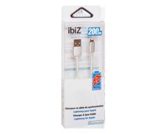 Image du produit ibiZ - Chargeur et câble de synchronisation, 1 unité, argent