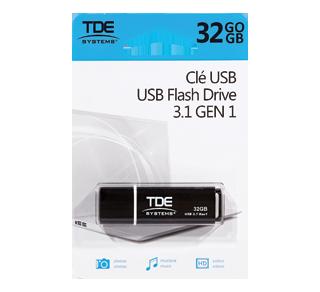 Clé USB 32 GO, 1 unité