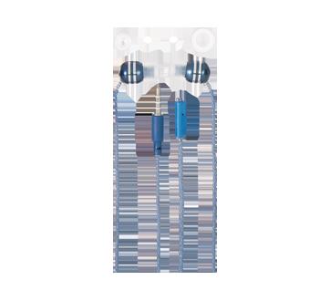Image 2 du produit Virtuoz - Écouteurs métalliques avec microphone, 1 unité, bleu