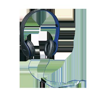 Image 2 du produit Virtuoz - Casque d'écoute stéréo microphone intégré, 1 unité, bleu