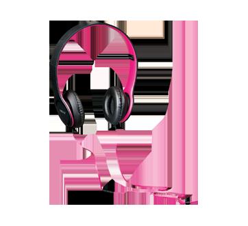 Image 2 du produit Virtuoz - Casque d'écoute stéréo microphone intégré, 1 unité, rose