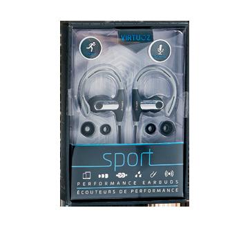Sport écouteurs de performance, 1 unité, gris