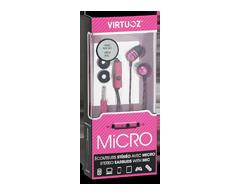 Image du produit Virtuoz - Écouteurs Micro, Rose