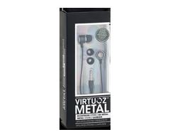 Image du produit Virtuoz - Écouteurs Metal, Noir