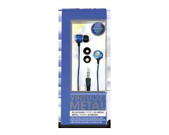 Image du produit Virtuoz - Écouteurs Metal, Bleu