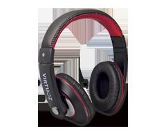 Image du produit Virtuoz - Casque d'écoute Extreme, Noir et rouge