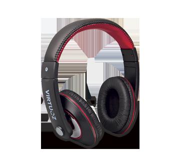 Casque d'écoute Extreme, 1 unité, noir et rouge