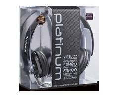 Image du produit Virtuoz - Casque d'écoute Platinum, Noir
