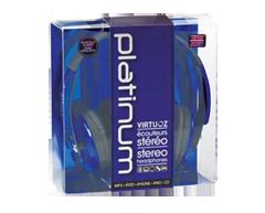 Image du produit Virtuoz - Casque d'écoute Platinum, Bleu