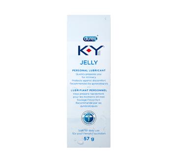 Image 1 du produit K-Y - Lubrifiant personnel, gel, 57 g