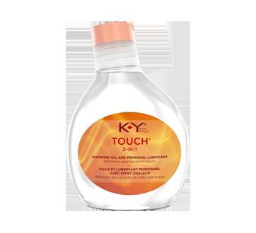 Image du produit K-Y - Lubrifiant personnel avec effet chaleur, 2-en-1, 148 ml