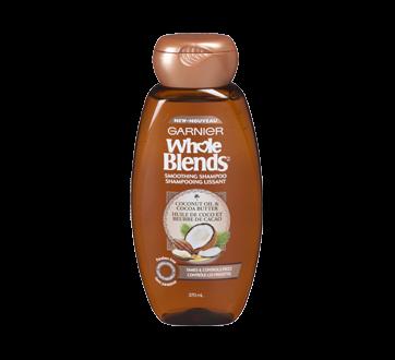 Whole Blends shampooing lissant, 370 ml, huile de coco et beurre de cacao