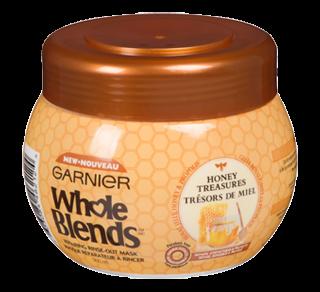 Whole Blends masque réparateur à rincer, 300 ml, Trésor de miel
