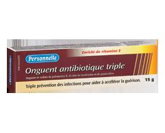 Image du produit Personnelle - Onguent antibiotique triple, 15 g