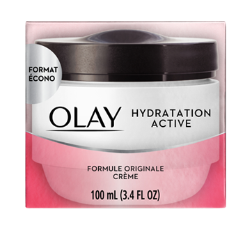cr me hydratation active hydratant pour le visage formule originale 100 ml olay hydratant. Black Bedroom Furniture Sets. Home Design Ideas