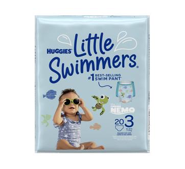 Little Swimmers maillots de bain jetables, 20 unités, petit