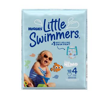 Little Swimmers maillots de bain jetables, 18 unités, moyen
