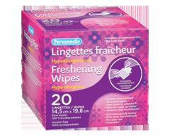 Image du produit Personnelle - Lingettes fraîcheur, 20 unités