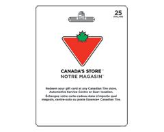 Image du produit Incomm - Carte-cadeau Canadian Tire de 25 $