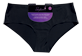 Vignette du produit Styliss - Culotte sans couture pour femmes, 1 unité, noir, moyen