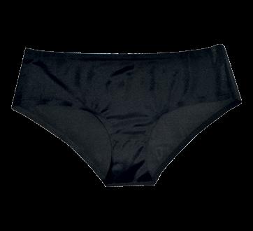 Culotte sans couture pour femmes, 1 unité, noir, grand