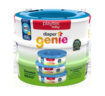 Diaper Genie recharges pour système de mise au rebut des couches, 3 unités