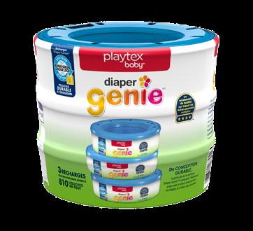 Image 2 du produit Playtex Baby - Diaper Genie recharges pour système de mise au rebut des couches, 3 unités