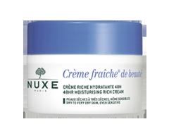 Image du produit Nuxe - Crème Fraîche crème riche hydratante 48 h, 50 ml, peaux sèches à très sèches