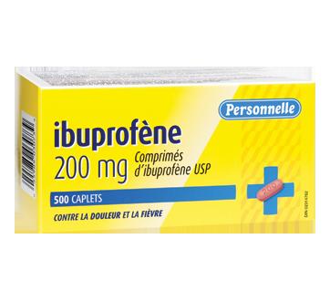 Image du produit Personnelle - Comprimés d'ibuprofène 200 mg, 500 unités