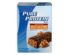 Image du produit Pure Protein  - Chocolat et beurre d'arachide, 6 x 50 g