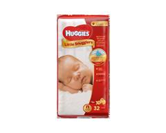 Image du produit Huggies - Little Snugglers nouveau-né, jusqu'à 10 lbs