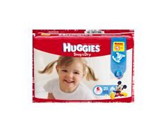 Image du produit Huggies - Snug & Dry #6, plus de 35 lbs