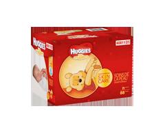 Image du produit Huggies - Little Snugglers couches nouveau-né giga junior, 88 unités