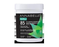 Image du produit Annabelle - Tampons démaquillants pour yeux sans huile, 85 unités