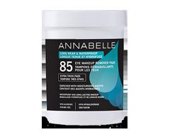Image du produit Annabelle - Tampons démaquillants maquillage longue tenue & hydrofuge, 85 unités