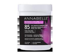 Image du produit Annabelle - Tampons démaquillants apaisants anti-poches & soins des cils, 85 unités