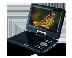 Image du produit Sylvania - Lecteur DVD portable 9 pouces