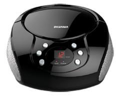 Image du produit Sylvania - Boombox radio, 1 unité