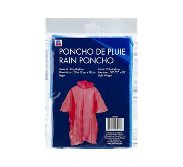 Poncho de pluie, 1 unité