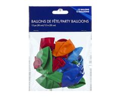 Image du produit PJC - Ballons de fête, 12 unités