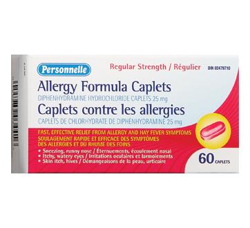 Image du produit Personnelle - Caplets contre les allergies régulier