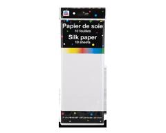 Image du produit PJC - Papier de soie, 10 unités, blanc