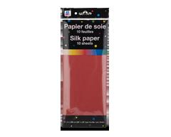 Image du produit PJC - Papier de soie, 10 unités, rouge