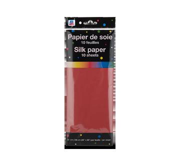 Papier de soie, 10 unités, rouge