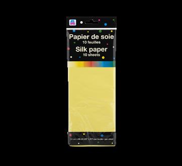 Papier de soie, 10 unités, jaune