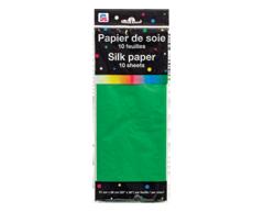 Image du produit PJC - Papier de soie, 10 unités, vert